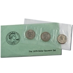1979 Susan B Anthony PDS Souvenir Mint Set - Government Packaging