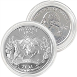 2006 Nevada Platinum Quarter - Denver Mint