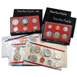 Susan B Anthony Proof & Mint Sets - 1979 to 1981