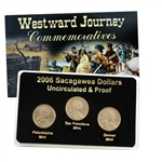 2006 Sacagawea Dollar - P/D/S Mint Set