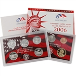 2006 US Silver Proof Set - Modern (10 pc)