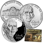 2006 Monticello Nickels - P/D/S 3 pc Set Lens
