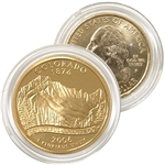 2006 Colorado 24 Karat Gold Quarter - Philadelphia