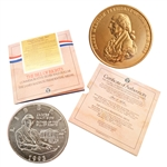 1993 Bill of Rights 90% Silver Coin & Medal Set