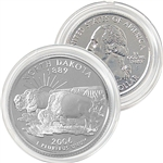2006 North Dakota Platinum Quarter - Denver Mint