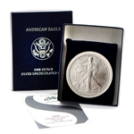 2006 Silver Eagle - Satin Finish - Uncirculated