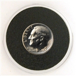 1968 Roosevelt Dime - PROOF in Capsule