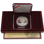1993 Jefferson Silver Dollar - Proof