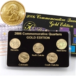 2006 Quarter Mania Uncirculated Set - Gold - D Mint