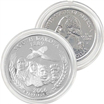 2006 South Dakota Platinum Quarter - Philadelphia Mint