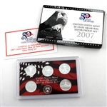 2007 50 State Quarters Silver Set - Original Government Packaging