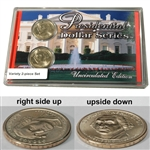 2007 Presidential Dollars - George Washington - Upside Down Variety Set