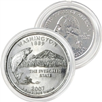 2007 Washington Platinum Quarter - Denver Mint