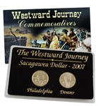 2007 Sacagawea Dollar - Philadelphia & Denver Mint Set