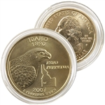 2007 Idaho 24 Karat Gold Quarter - Philadelphia