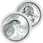 2007 Idaho Platinum Quarter - Philadelphia Mint