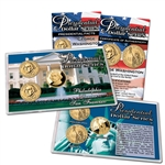 2007 Presidential Dollars - P/D/S - Lens - George Washington