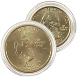 2007 Wyoming 24 Karat Gold Quarter - Denver