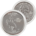 2007 Wyoming Platinum Quarter - Denver Mint