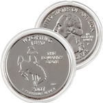 2007 Wyoming Platinum Quarter - Philadelphia Mint