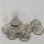 1964 Kennedy Half Dollar Bankers Roll of 10 - Unc