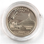 2006 Nebraska Proof Quarter - San Francisco Mint