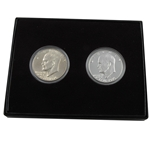 1976 Eisenhower Silver Dollar 2 piece Set