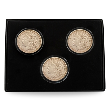 1921 Morgan Silver Dollar Mint Mark Set