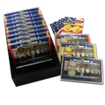 2007 Presidential Mania Uncirculated   Gold - Platinum (12 sets)