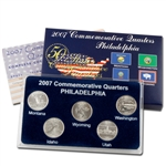 2007 Quarter Mania Uncirculated Set - Philadelphia Mint