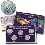 2007 Quarter Mania Uncirculated Set - Platinum D Mint