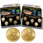 2007 Quarter Mania ( P & D ) Collection - Gold Edition