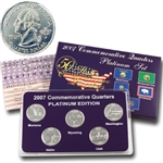 2007 Quarter Mania Uncirculated Set - Plat - P Mint