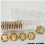Coin Tube - Dollar with Dividers (Holds 20 coins) - 26.5 mm - Quantity 1
