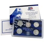 2008 Modern Issue Proof Set - Quarters Only