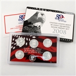 2008 50 State Quarters Silver Set - Original Government Packaging