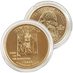 2008 New Mexico 24 Karat Gold Quarter - Philadelphia