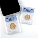 2006 Sacagawea Dollar Specimen Set P & D Mints - ANACS CT69