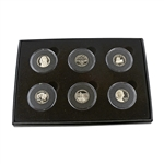 Jefferson Nickel 6-pc Proof Collection (2003-2006)