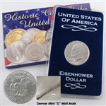 1972 Eisenhower Dollar - Denver - Uncirculated