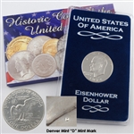 1974 Eisenhower Dollar - Denver - Uncirculated