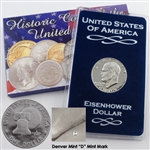 1976 Eisenhower Dollar - Denver - Uncirculated Type I