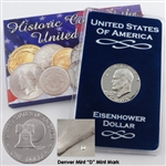 1976 Eisenhower Dollar - Denver - Uncirculated Type II