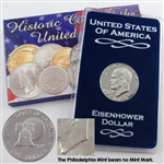 1976 Eisenhower Dollar - Philadelphia - Uncirculated Variety II