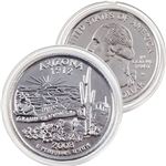 2008 Arizona Platinum Quarter - Denver Mint