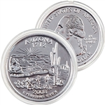 2008 Arizona Platinum Quarter - Philadelphia Mint