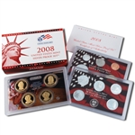 2008 US Silver Proof Set - Modern (14 pc)