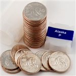 2008 Alaska Quarter Roll - Philadelphia Mint