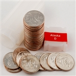 2008 Alaska Quarter Roll - Denver Mint