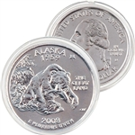 2008 Alaska Platinum Quarter - Denver Mint